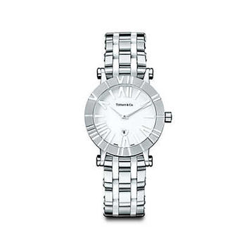 Tiffany & Co. - Atlas® watch in stainless steel, quartz movement.