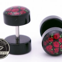 90's Roses Cheater Fake Plugs BMA