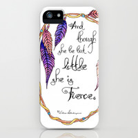Fierce  iPhone & iPod Case by Jennifer Weger