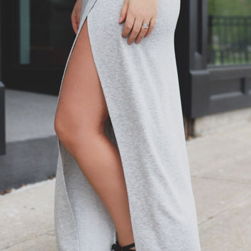 Morning Fog Maxi Skirt