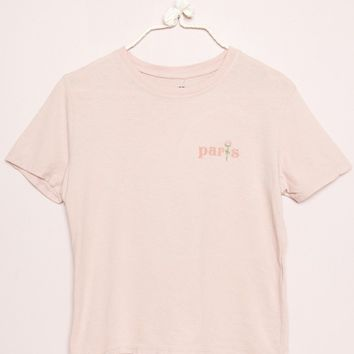 Jamie Paris Rose Embroidery Top - Graphics