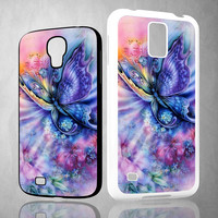 butterfly ART Y1410 Samsung Galaxy S3 S4 S5 (Mini) S6 S6 Edge,Note 2 3 4, HTC One S X M7 M8 M9 Cases