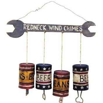 Ohio Wholesale Small Redneck Wind Chimes, from our Humor Collection