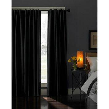 Curtainworks Saville Back Tab Curtain Panel | Hayneedle