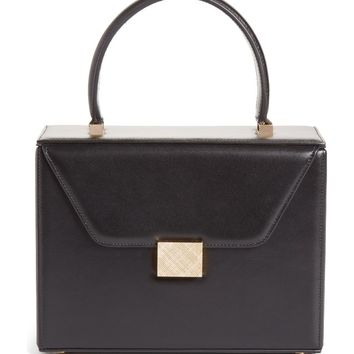 Victoria Beckham Mini Vanity Top Handle Box Bag | Nordstrom