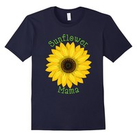 Sunflower Mama Shirt Hippie Nature Autumn Summer