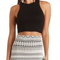 Racer Back Crop Top by Charlotte Russe