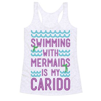 SWIMMING WITH MERMAIDS IS MY CARDIO