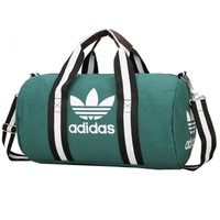 ADIDAS Fashion Women Print Canvas Travel Large Capacity Luggage Travel Bags Tote Hand