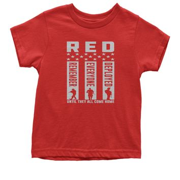 RED Remember Everyone Deployed Youth T-shirt