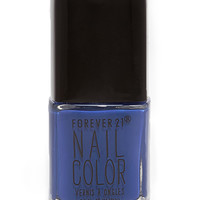 FOREVER 21 Blueprint Nail Polish Blue Print One