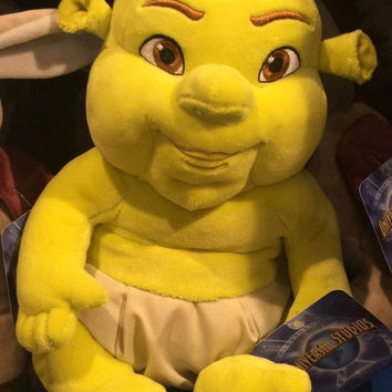 Universal Studios Baby Boy Shrek Plush Toy New With Tags
