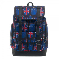 Doctor Who Union Jack / TARDIS Backpack