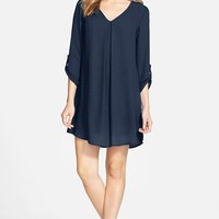 Junior Women's Lush 'Karly' Shift Dress