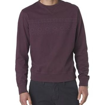 Dockers Wellthread Sweatshirt - Purple,Tan Perfect - Men's