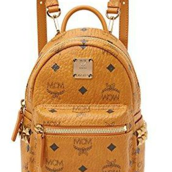 MCM Women's Side Stud Baby Stark Backpack