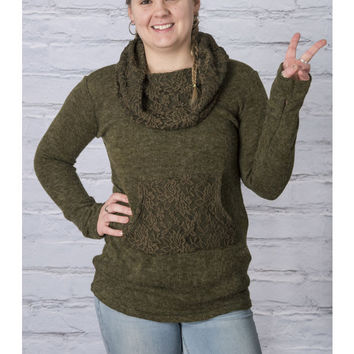 Lace Lucy Trim Pullover