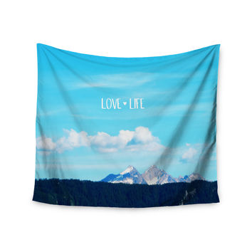 "Robin Dickinson ""Love Life"" Blue Sky Wall Tapestry"