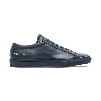 Common Projects Original Achilles Low In Navy