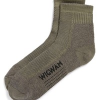 Men's Wigwam 'Cool Lite Hiker Pro' Quarter Socks, Size Large