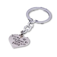 """All My Children Have Paws"" - Dog Lover Key Chain"