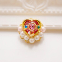 Sailor Moon Mini Ear Cuff With Clip - Handmade