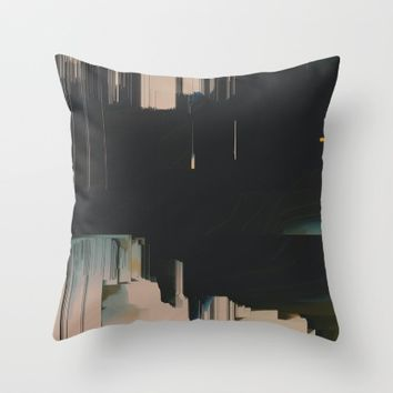 Neutrality Throw Pillow by Ducky B