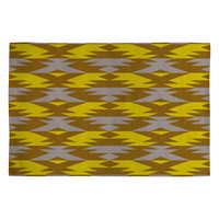 Holli Zollinger Bright Native Diamond Woven Rug