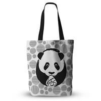 "KESS Original ""Panda"" Everything Tote Bag"