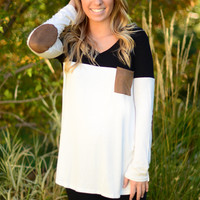 Elbow Room Top - Black
