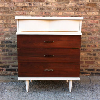 Rustic Mid Century Highboy