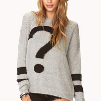 Totally Clueless Open-Knit Sweater