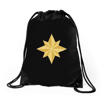captain marvel 2 Drawstring Bags