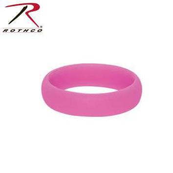 Pink Silicone Ring