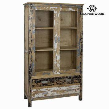 Pickled wood cabinet 2 doors - Poetic Collection by Craften Wood