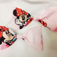 Minnie Mouse Hair Bows (set of two)