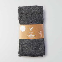 AEO Fleece Lined Tights, Charcoal
