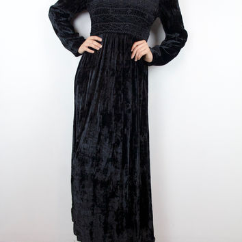 Night Terror Velvet Nightgown
