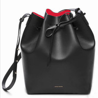 Mansur Gavriel female bag 2016 autumn and winter new bucket bag star with the paragraph shoulders oblique bag sub-packet