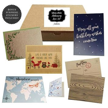 Nature - Idea Chic Stationery Box Set