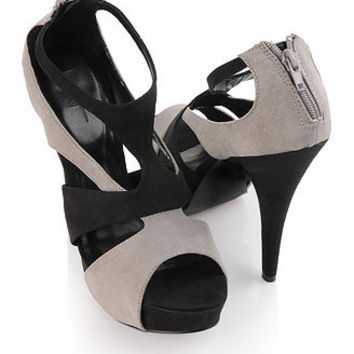 Impression Suedette Heels - Shoes - 2083331430 - Forever21