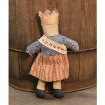 Primitive Miss Liberty Doll