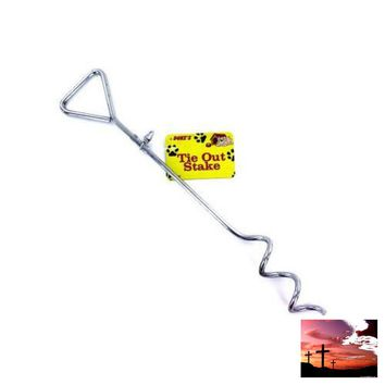 Dog Tie-Out Stake ( Case of 54 )
