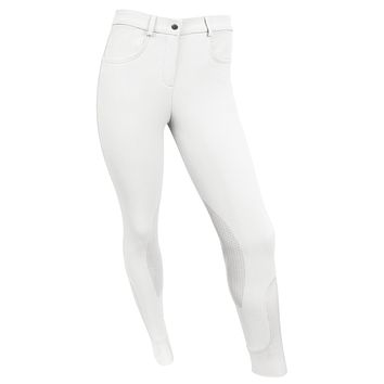 RideTex™ Knee Patch Competition Breeches - White