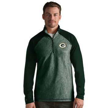 Green Bay Packers Men's Playmaker Lightweight Jacket- Green By Antigua
