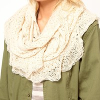 Crochet Ruffle Snood