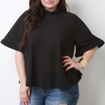 Flared In Style Top
