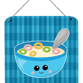 Blue bowl of Cereal Wall or Door Hanging Prints BB6845DS66