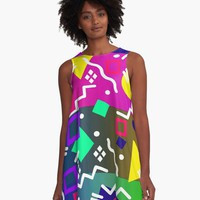 'DESIGN B119' A-Line Dress by IMPACTEES