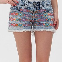 Women's Capricorn Embroidered Stretch Short in by Daytrip.